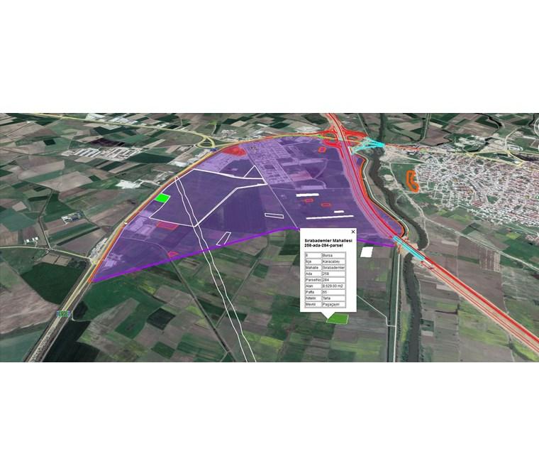 Karacabey Paşaçayırı Sanayi Planı Yakınında Satılık Arazi.Fırsat