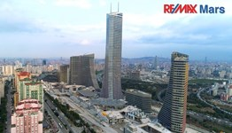 Ataşehir Metropol İstanbul Finans Merkezi Cepheli Kiralık Ofis