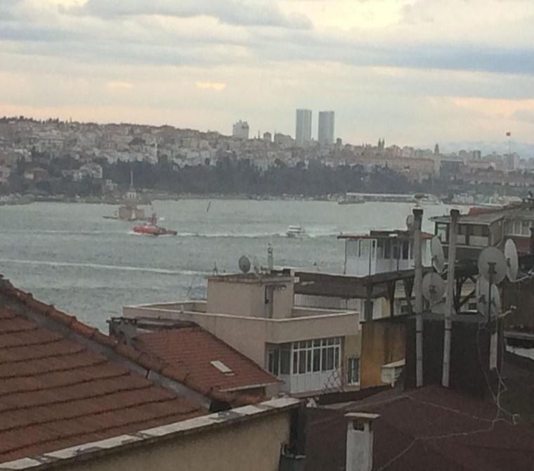 Beyoglu Ev cihangır teraslı deniz manzara2+1 full esyalı
