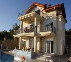 Alanya İncekum Satılık Özel Triplex Villa