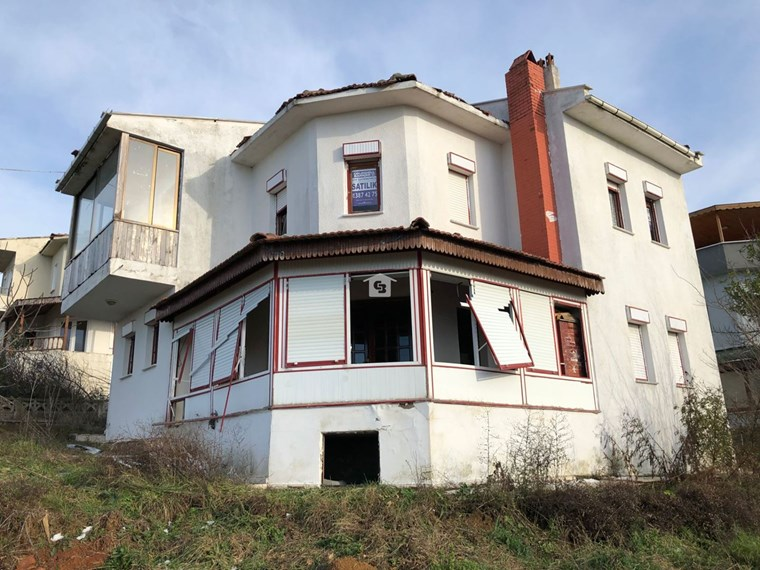Bankadan Satılık Düzce Akçakoca'da Deniz Manzaralı Dubleks