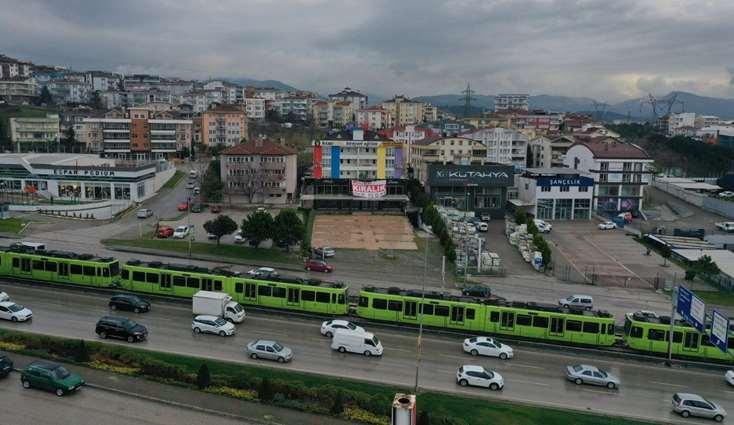 ELFİden İZMİRYOLU ÜZERİ 2.300 m2KAPALI 1.000 m2AÇIK KİRALIK BİNA