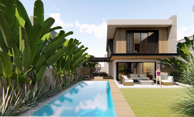 İzmir Çeşme Şifne Müstakil Havuzlu Lüks Modern Satılık Villa