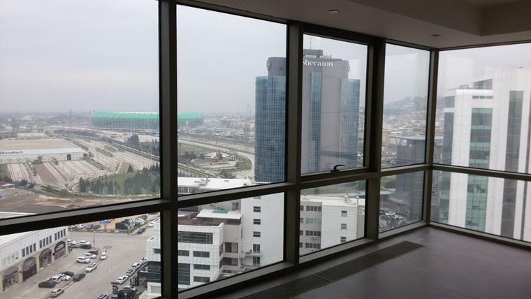 Nilüfer Suryapı AVM de Kiralık 1+1 Home Office Daire