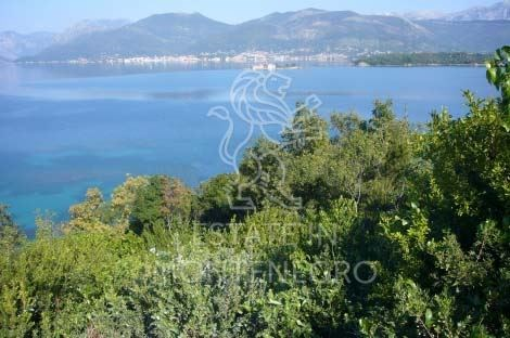 For Sale land with sea view, Bogisici, Tivat, 6137m²