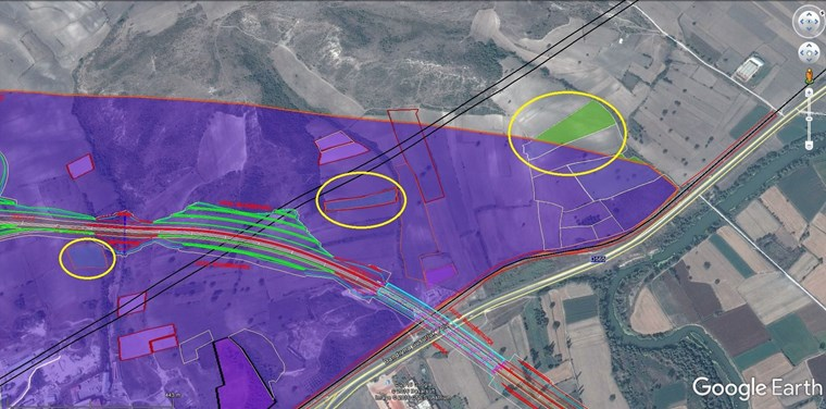 Susurluk'da Otoban Çıkışına Yakın Yatırımlık 16.500 m2 Arazi.