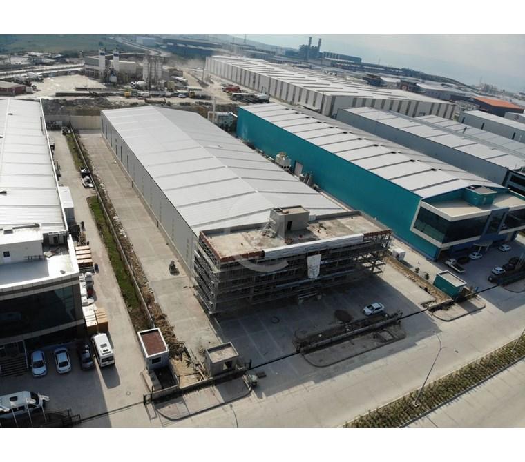Dilovası İmes OSB'de 5.300m2 Vinçli Kiralık Fabrika