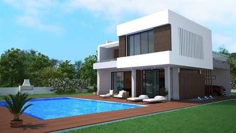 Girne Çatalköy'de modern dizayn 4+1 lüks villa