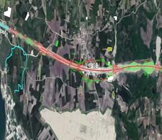 Nilüfer Badırga 1/5000 binlik Planda Yüksek yoğunlukta Yatırım
