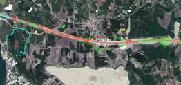 Nilüfer Badırgada 1/5000 binlik Planda Yüksek yoğunlukta Yatırım