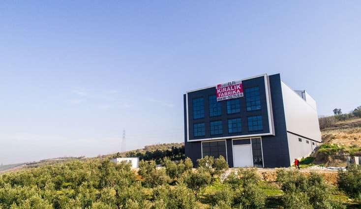 ELFİ den GÖRÜKLE SANAYİ BÖLGESİNDE 3.750 m2 KİRALIK FABRİKA
