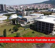 SANCAKTEPE TEM YANYOL'DA SATILIK TİCARİ BİNA VE ARSASI P209997