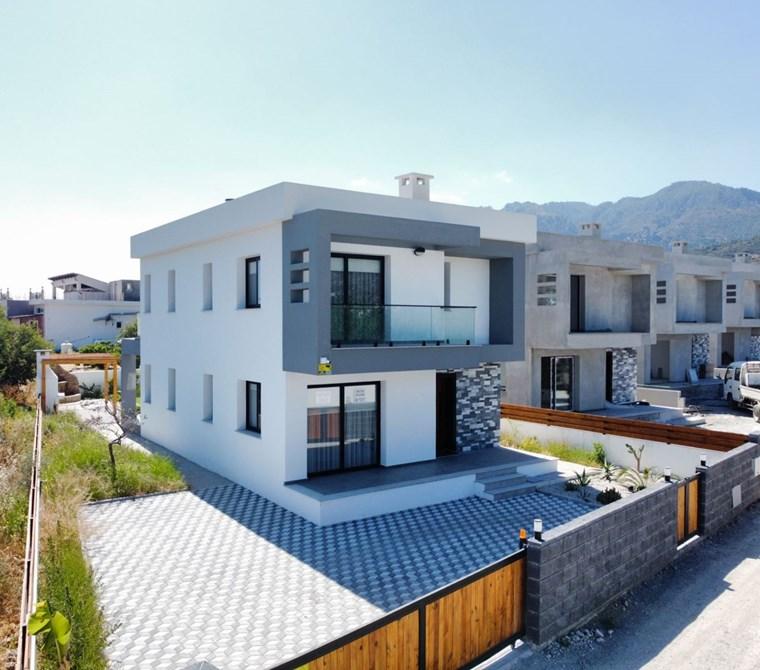 Satılık Modern Villalar - Girne, Alsancak, Kuzey Kıbrıs
