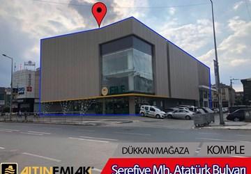 DÜZCE MÜKEMMEL KONUMLU SATILIK 6.500 m² **BİNA**