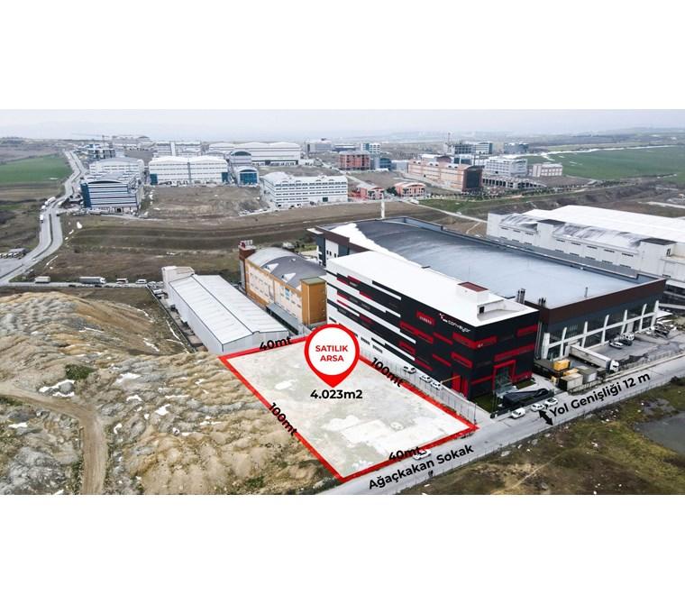AKPINAR SANAYİ BÖLGESİ 4.023 m2 SATILIK KOTLU ARSA