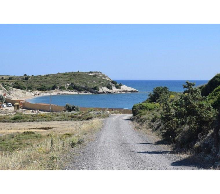 İzmir Çeşme Ovacık Denize Sıfır Arsa Özel Koy