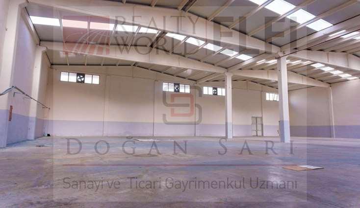 ELFİ den NOSAB DA 1.500 m2 TEK KAT KİRALIK FABRİKA