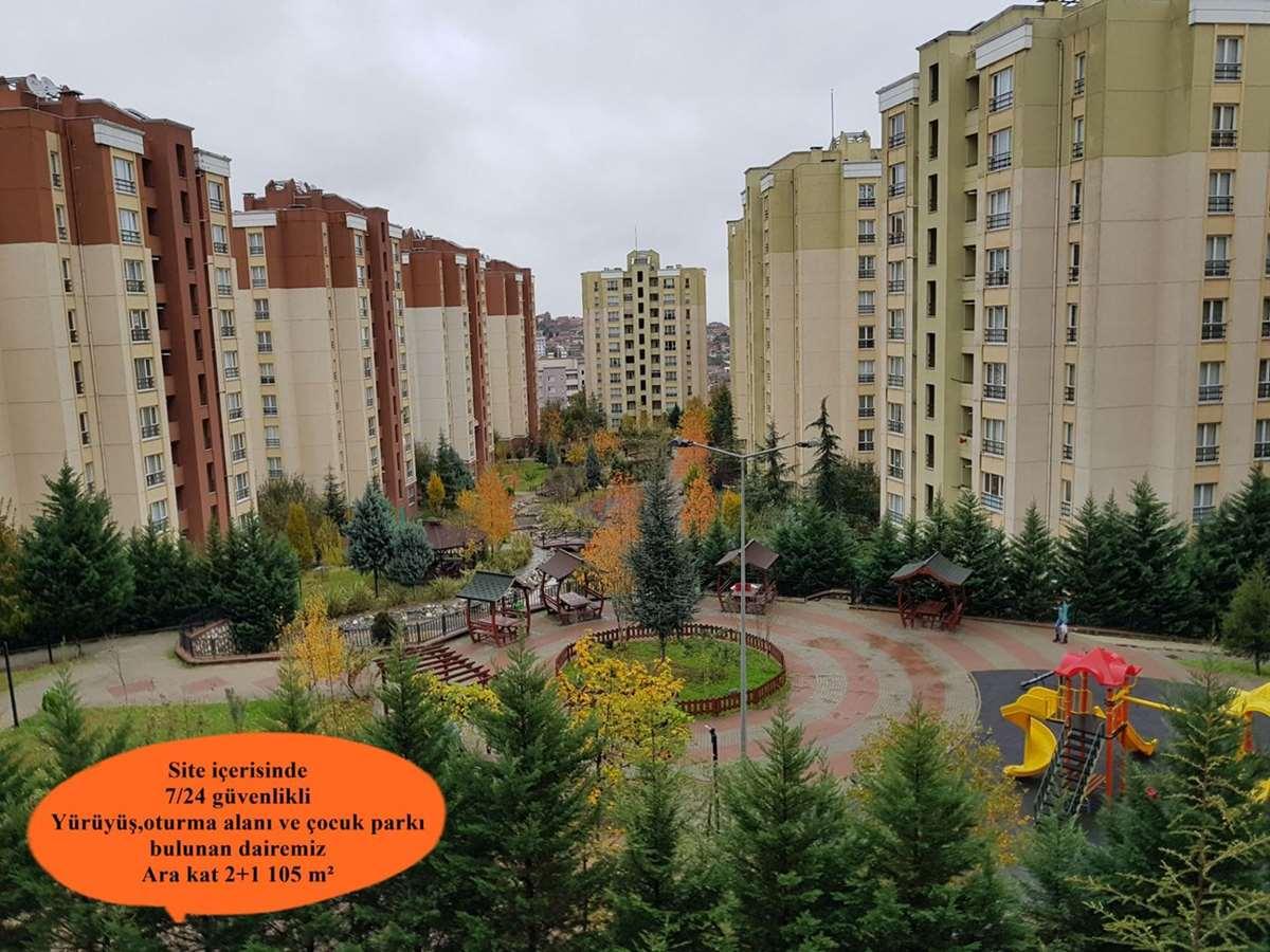 İZMİT KENT KONUT 2.ETAPTA ARAKAT İÇİ YAPILI 105 m² KİRALIK DAİRE - 1