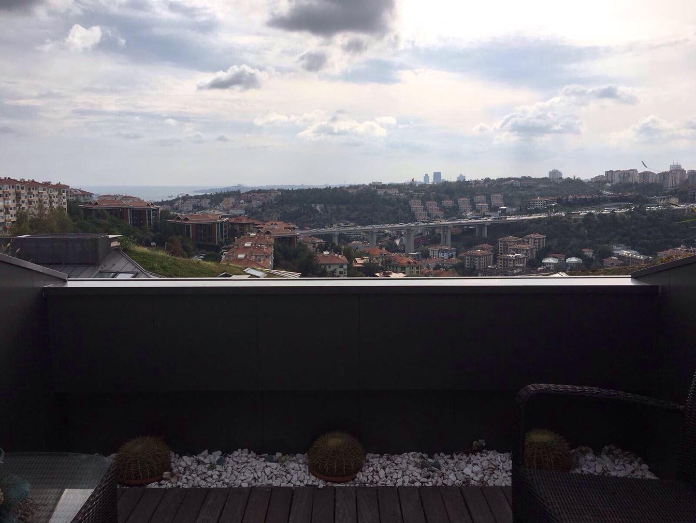 Ulus Savoy Sitesi'nde Mobilyalı Kiralık Çatı Dubleksi