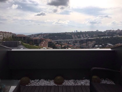 Roof Duplex for Rent in Ulus Savoy Compound