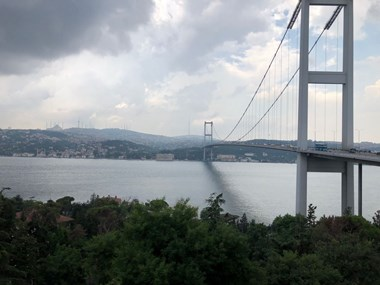 Flat for Rent with Bosphorus View in Ortaköy Emin Vafi Grove