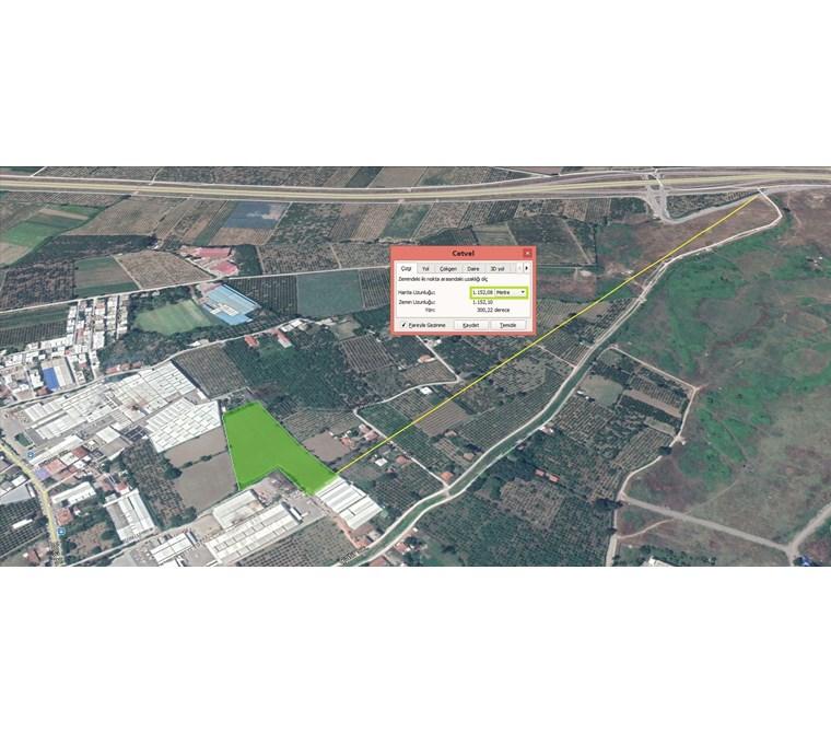 Samanlı'da Otobana çok Yakın Satılık 14.200 m2 Yatırımlık Arazi.