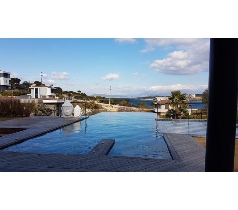 Terakamon'dan Çeşme Dalyan'da Deniz Manzaralı Ultra Lüks Villa