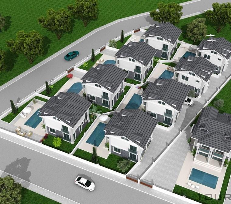 Fethiye Ölüdeniz Hisarönü merkezde Satılık Mustakil villa