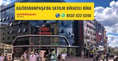 GAZİOSMANPAŞA'DA SATILIK KİRACILI BİNA P217367