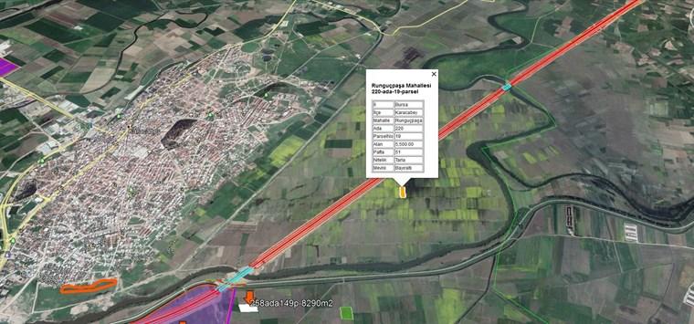 Karacabey Runguçpaşa'da Otobana ve Yerleşime Yakın 5.500m2 Tarla