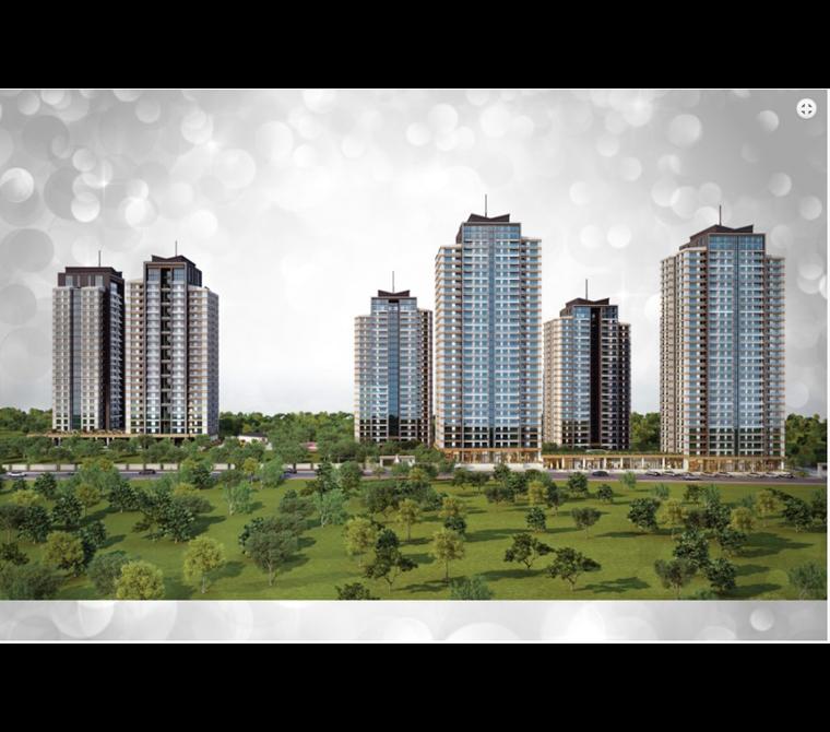 Hayat Park 2'de, Satılık, 90 m2, 2+1 (Rayiç Bedeli Altında)