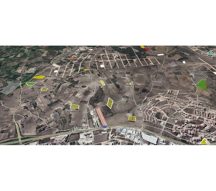 Nilüfer Görükle Mera 1/5000 İmar Planında Satılık 2200 m2 Tarla.
