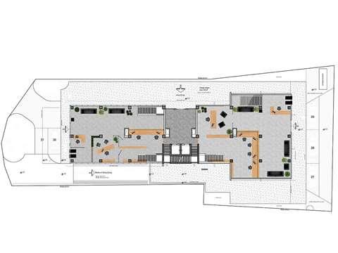 Kuzey Kıbrıs'ta Lefkoşa'nın En İşlek Yerinde Satılık Komple Bina Kat Planı