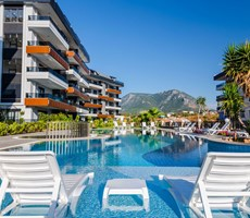SOYSAL INVEST KAVİ PALACE OBA 1+1 LUX DAİRE