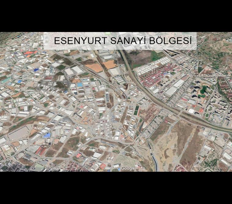 LİVANE- ESENYURT'da 1.600 m2 E : 1.50 SANAYİ İMARLI SATILIK ARSA