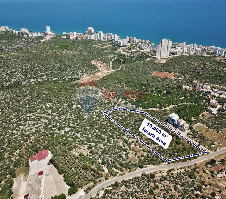 REMAX LOCA'DAN AYAŞ'TA DENİZ MANZARALI 10.803 m² İMARLI ARSA