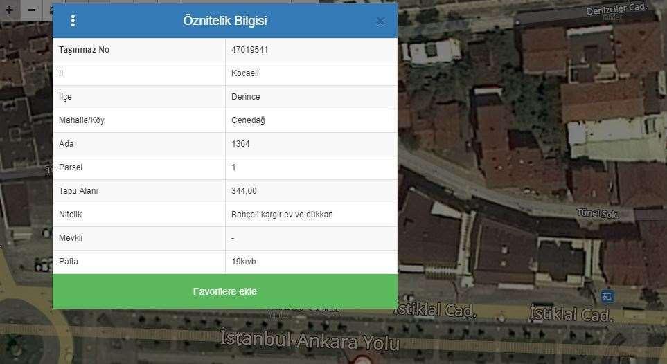 BANKALAR CADDESİNDE SATILIK TİCARİ ARSA - 1