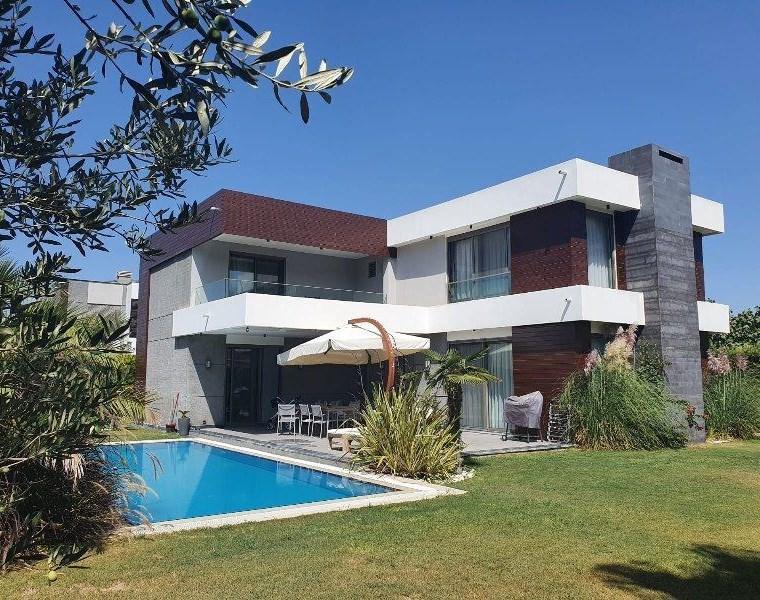 İzmir Çeşme Mamurbaba Müstakil Havuzlu Satılık Lüks Villa