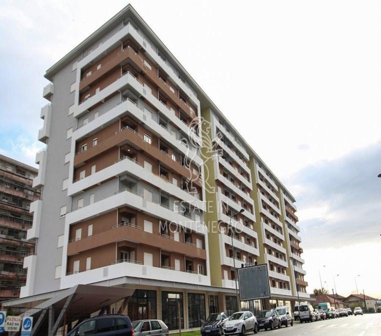 City Kvart, Podgorica'da 50m² Satılık 1+1 Daire