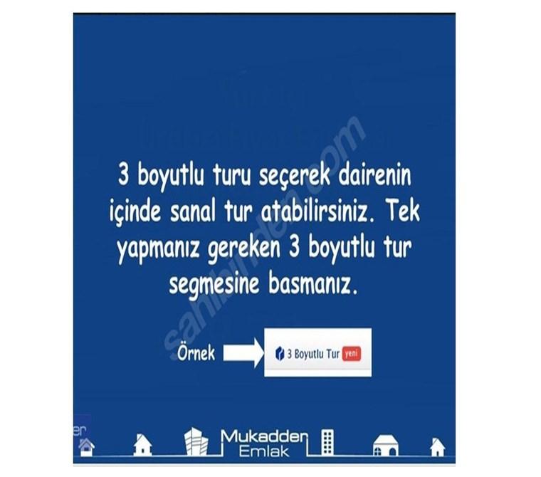 Gayrettepe Ortaklar Beşiktaş Bakımlı 3+1 ''Mukadder Emlak''