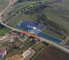 İNCEĞİZ ELBASAN CADDESİNE 305 mt CEPHELİ 14.500 m2 ARSA
