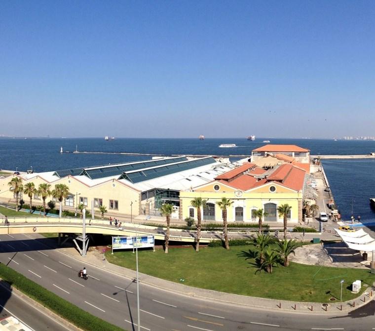Konak Merkez Cumhuriyet Bul. Deniz Manzaralı 40 m2 Büro-Ofis