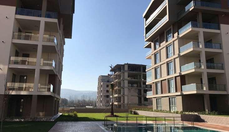 ELFİ DEN KENT KAYAPA DA BULVARA CEPHE SIFIR SATILIK 3+1 DUBLEKS
