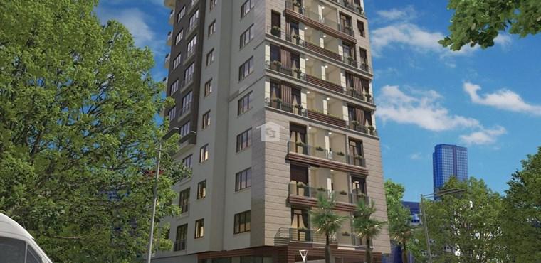 GÖZTEPE MY HOME Merdivenköy 'de 2+1 , 90 m2 Lüks Daireler