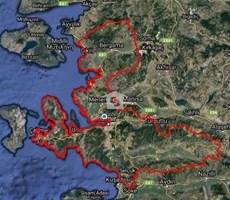 Çandarlı Otobanı Liman ve BASBAŞ Yakını 23 Dönüm Satılık Tarla