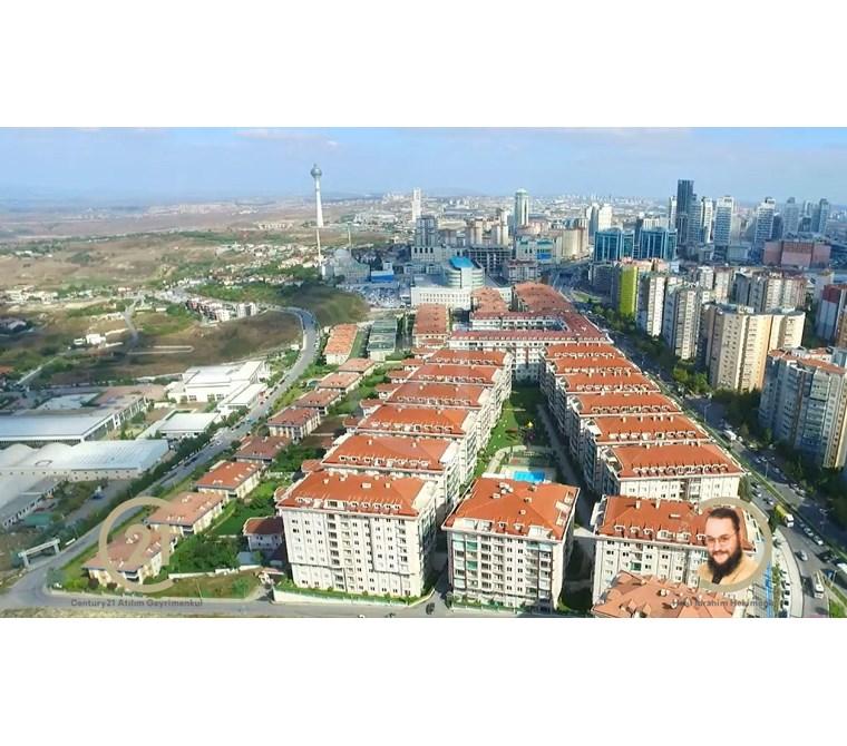 Beykent Hilal Konakları nda site içine bakan kiralık sıfır 4+1