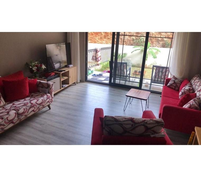 For sale Located Fethiye patlangıç fully furnished 2 bedrom apartment