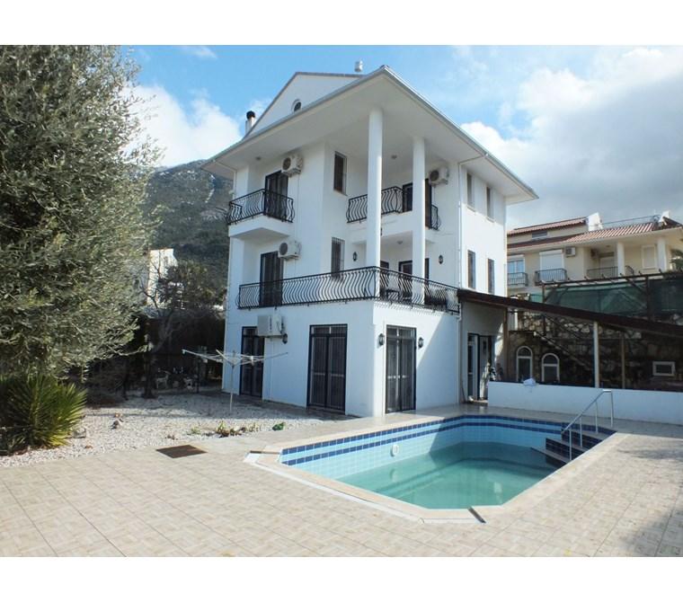 4 bedroom private villa sale in Ovacik