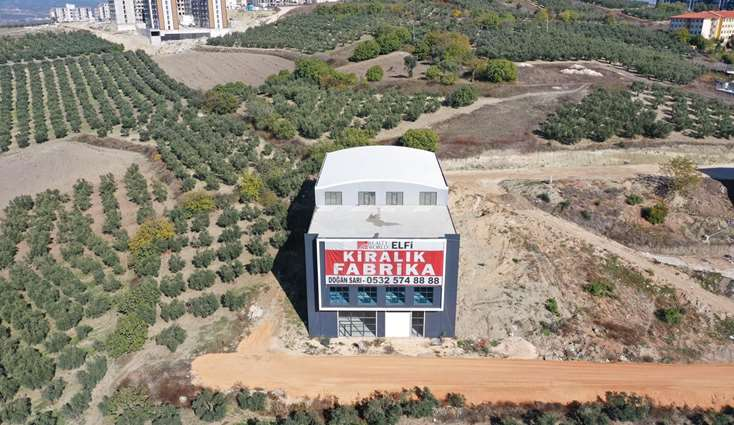 ELFİ den GÖRÜKLE SANAYİ BÖLGESİNDE 2.060 m2 KİRALIK FABRİKA