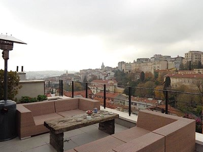 Historical, Bosphorus View Duplex Flat for Sale in Galatasaray